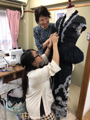 全日本洋装技能コンクール2016出品作品