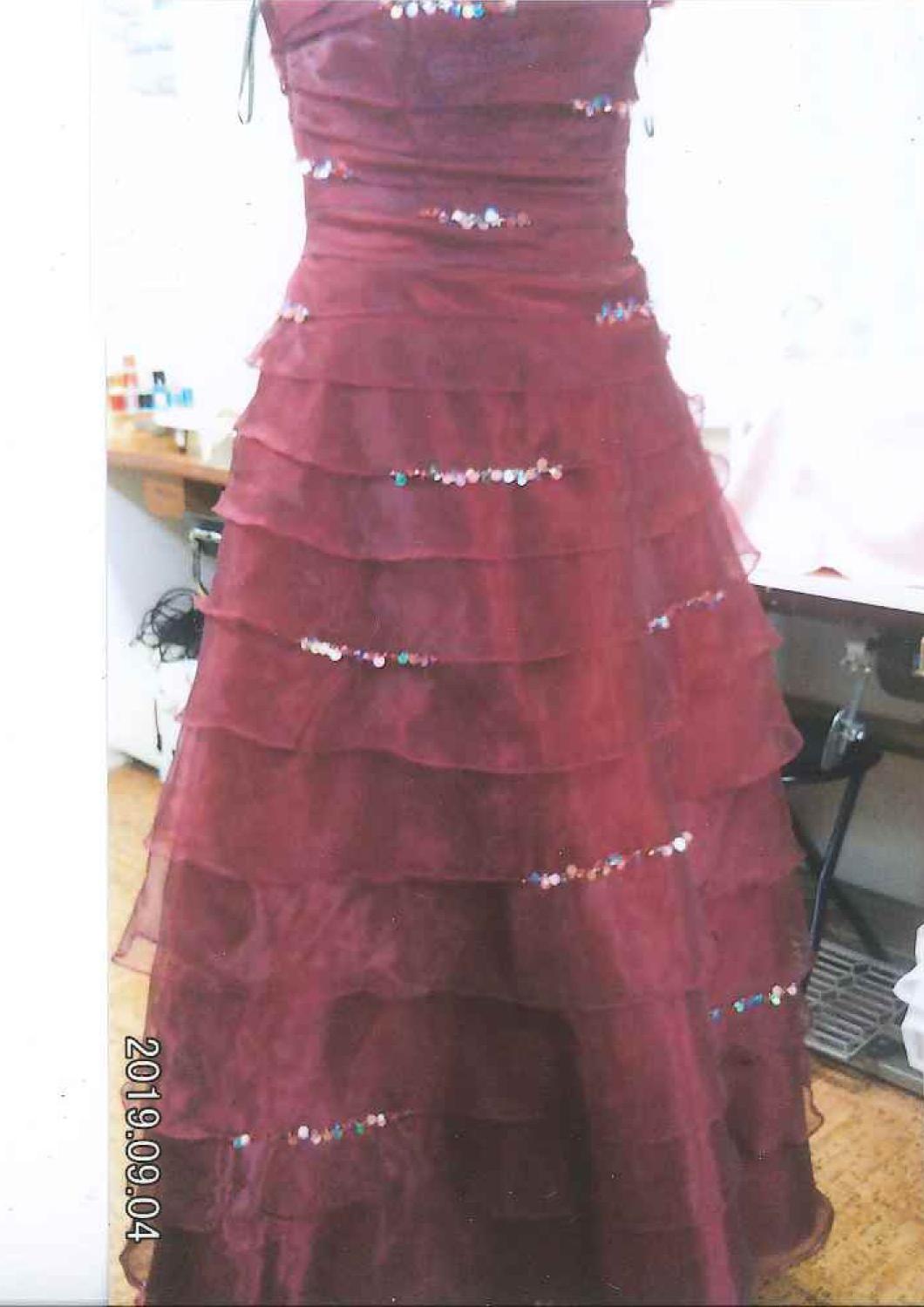 バイオリン発表会用のドレス