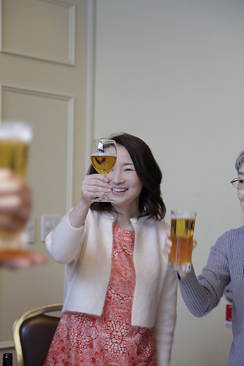 YU洋裁研究所 新年会